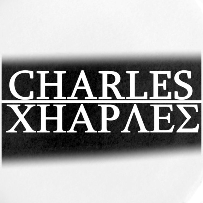 CHARLES CHARLES BLACK AND WHITE