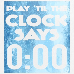 Eishockey: Play ´til the clock says 0:00 - Buttons groß 56 mm