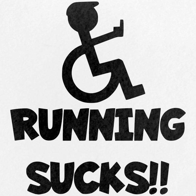 Rolstoel gebruikers haten rennen