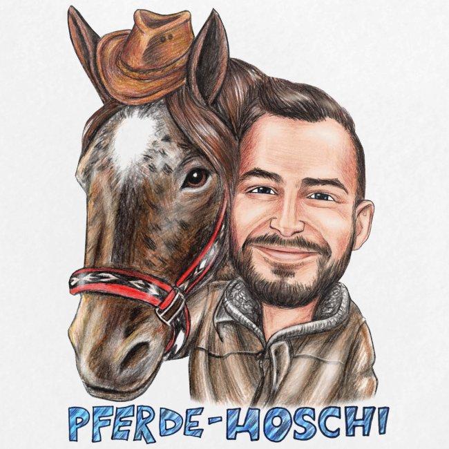 Pferde-Hoschi Kollektion hinten