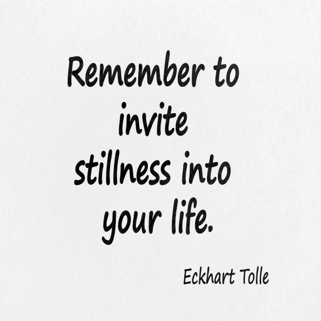 Invite Stillness