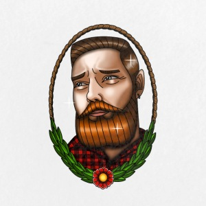 beardman - Stor pin 56 mm
