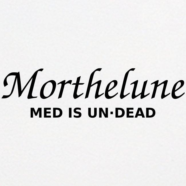Morthelune - med is undead - noir