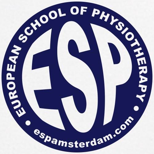 ESP globe sticker transparent design - Men's Polo Shirt