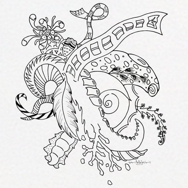 Fantasy sort scribblesirii