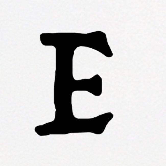 E black