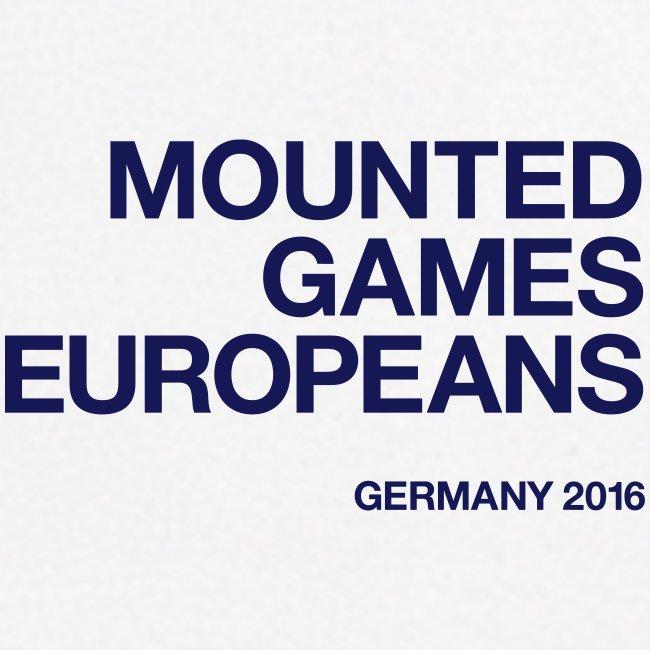 Mounted Games Europeans Hoodie