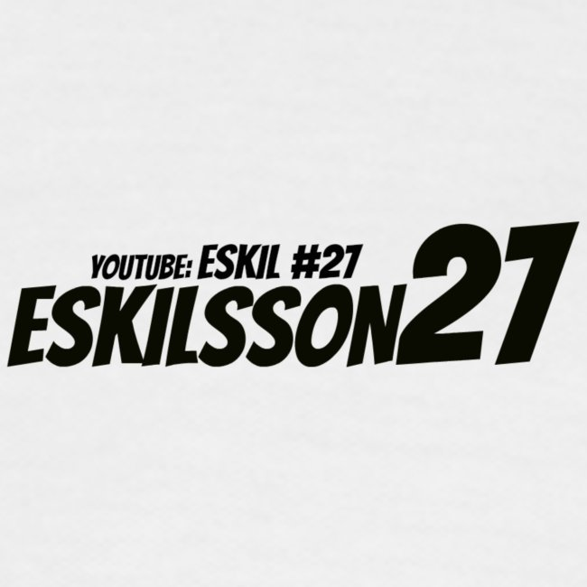 Eskilsson 27 sticker motive Black