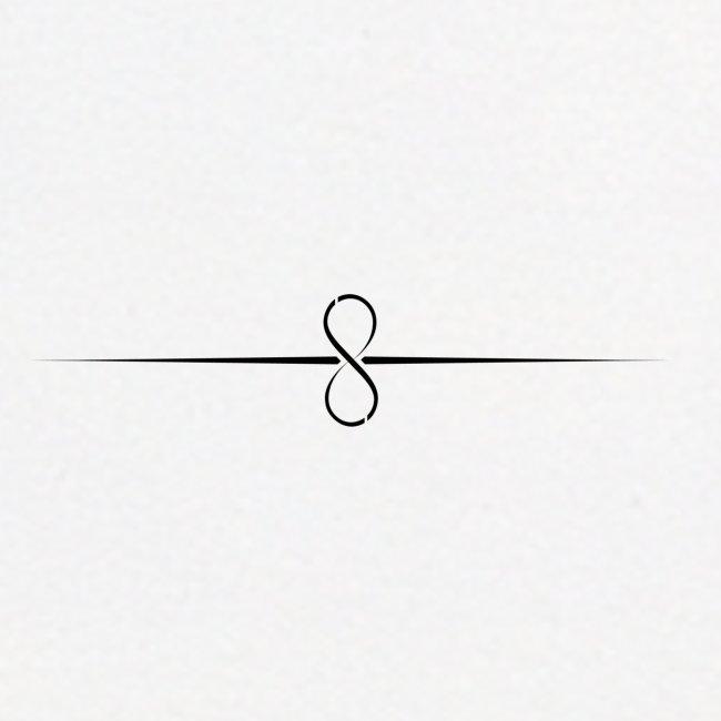 Through Infinity black symbol