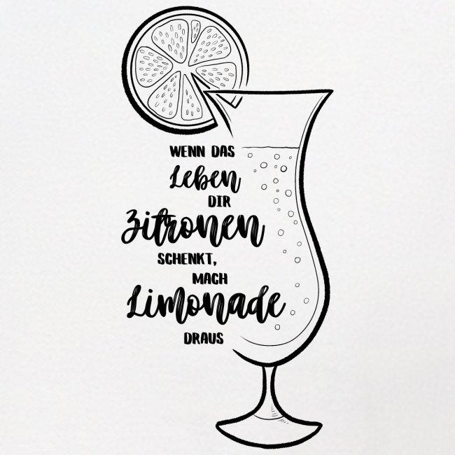 Wenn das Leben dir Zitronen schenkt - Illustration