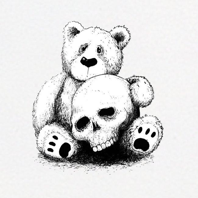 Bear With Skull