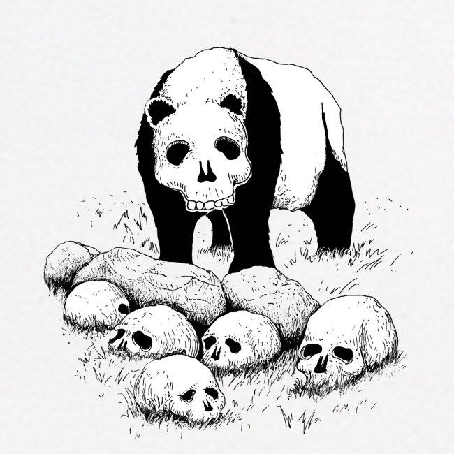panda skull