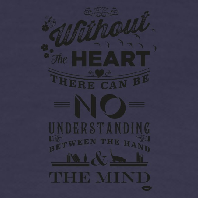 Without the heart black
