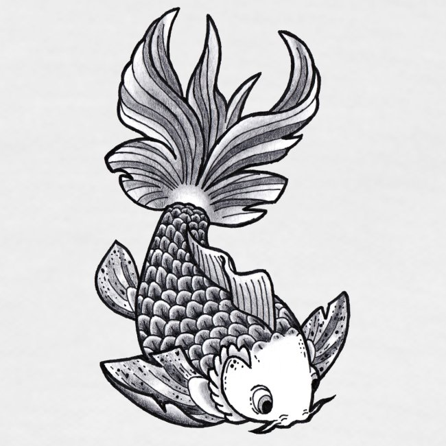 Pesce Tattoo Flash