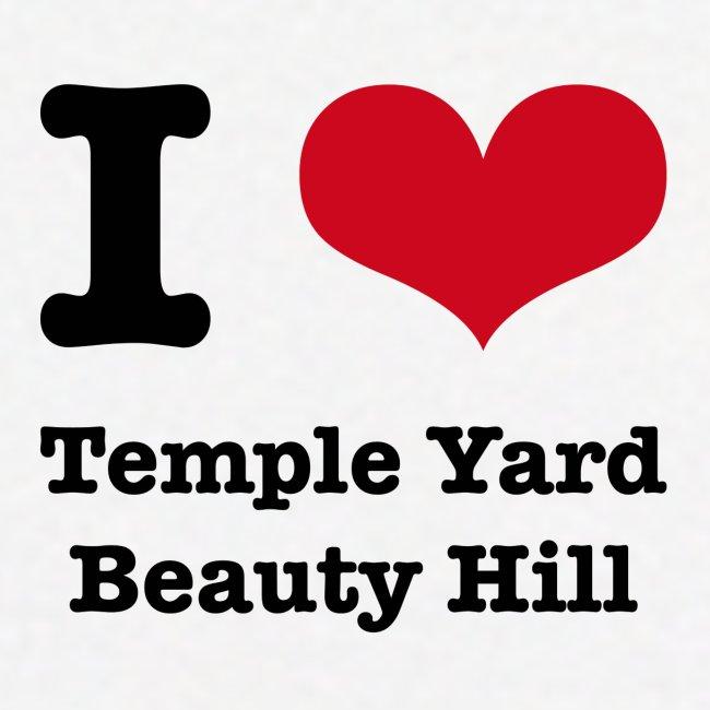 I love Temple Yard Beauty Hill