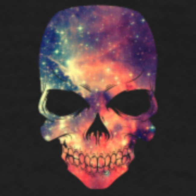 universe-space-galaxy-skull