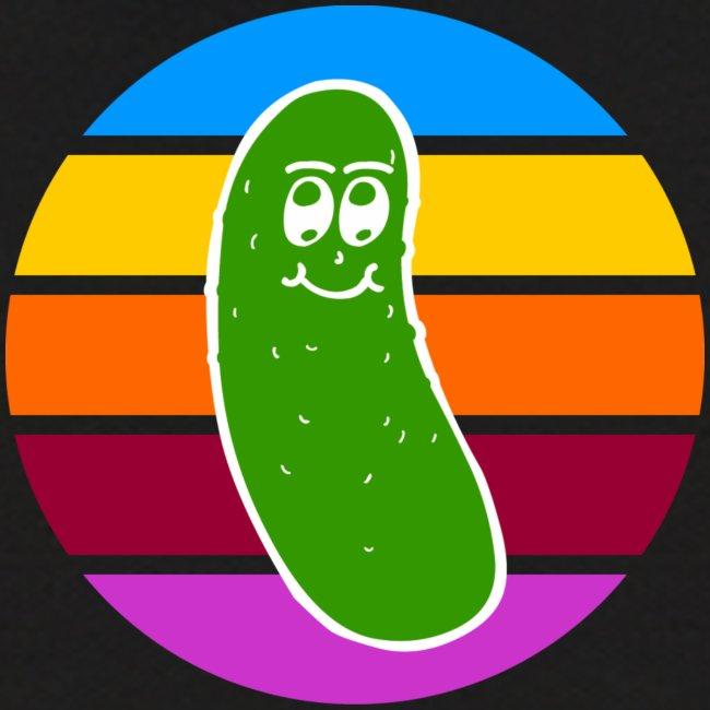 Vintage Colored Pickle #1