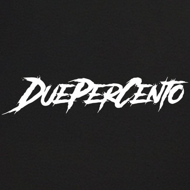 DuePerCento Scritta Bianca
