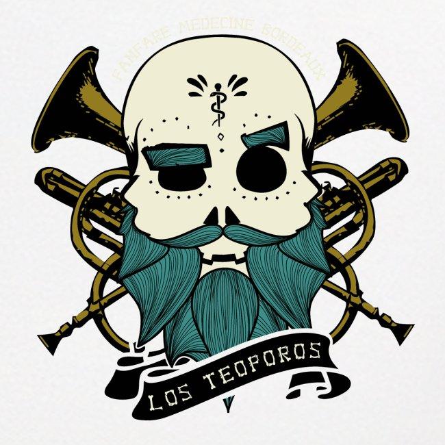 Los Teoporos Logo Pirate