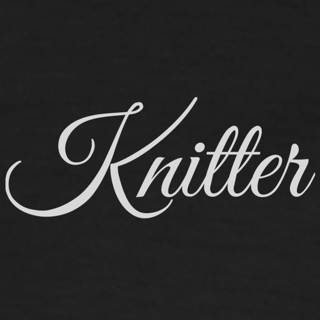 Knitter, light gray