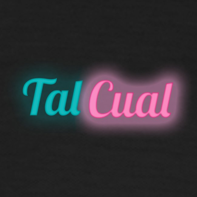 TalCual Logo Neón