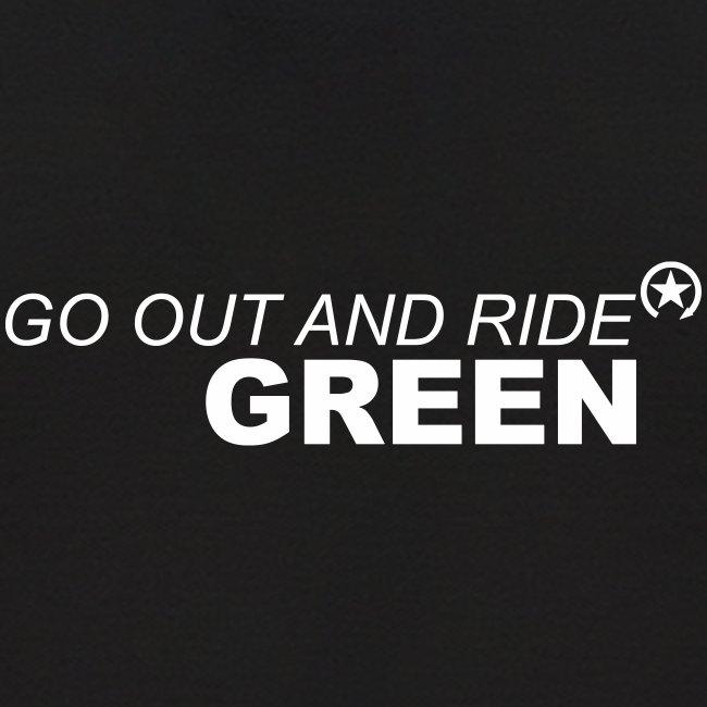 jeździć zielono