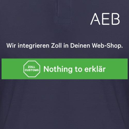 AEB Vorne - Männer Poloshirt