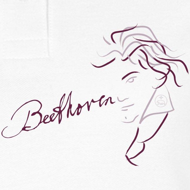 Beethoven (aubergine / pink)