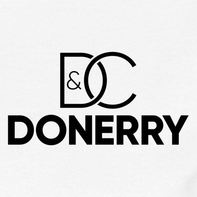 DONERRY Black Logo on White