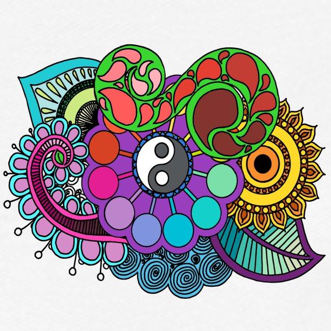 Coloured Nature Mandala