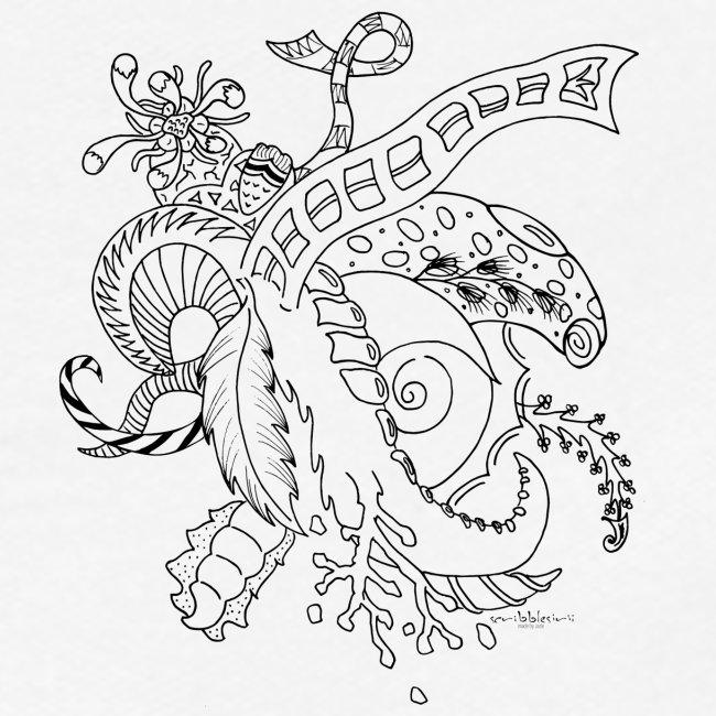 Fantasia musta scribblesirii