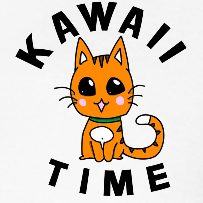 KAWAII RED CAT