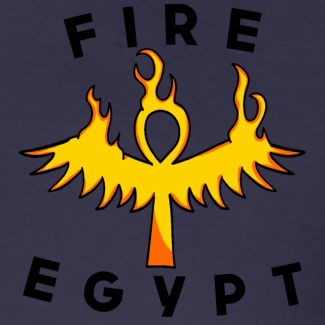 FIRE EGYPTIAN LIFE CROSS