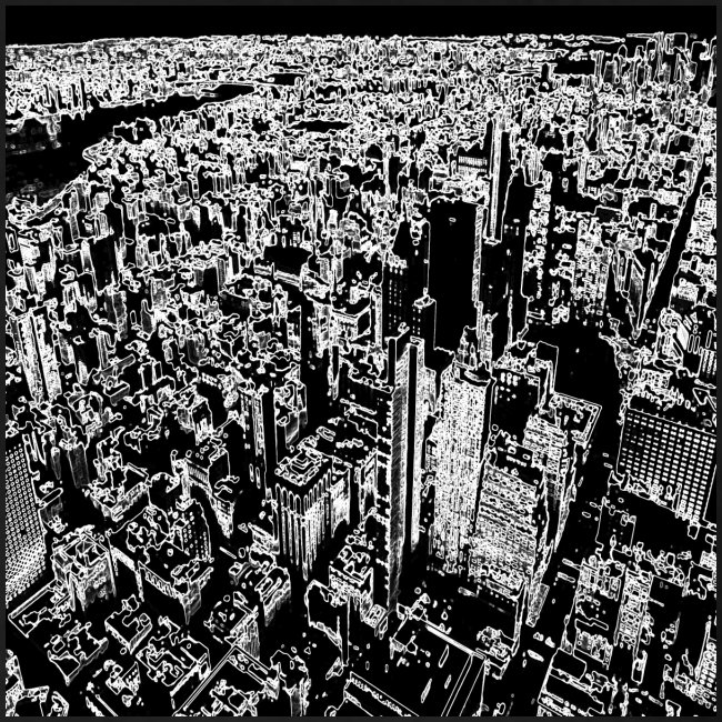 Manhattan a gessetto