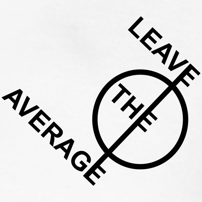 leave the average