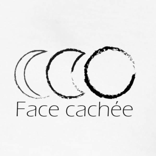 Face cachée - Triple lune dessin