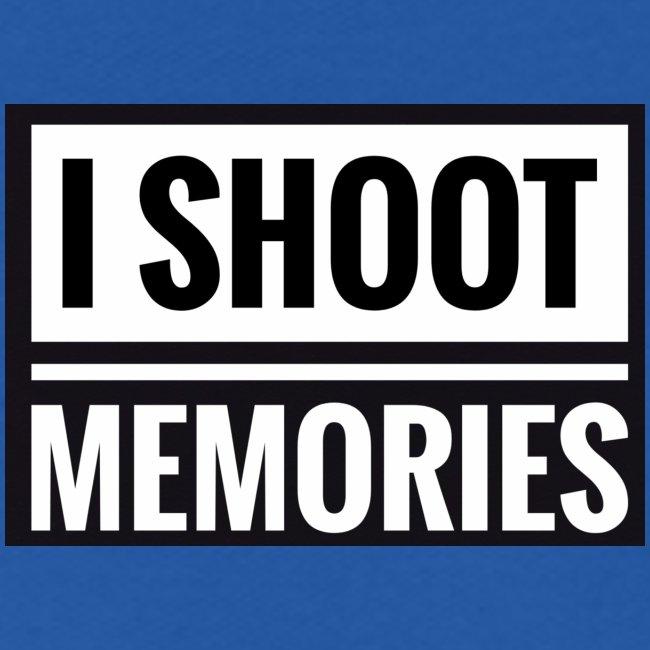 """I SHOOT MEMORIES"", BLACK EDITION"