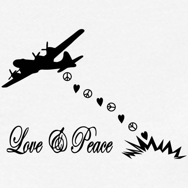 Bomber bringen love and peace, Liebe und Frieden
