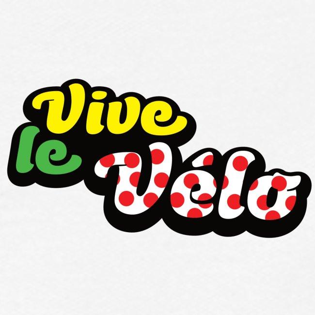 T-shirt Vive le Velo