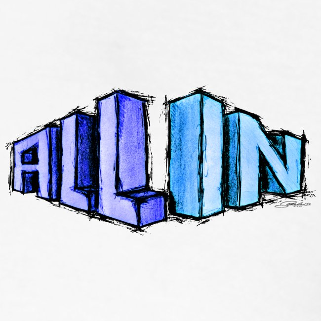 All In scribble