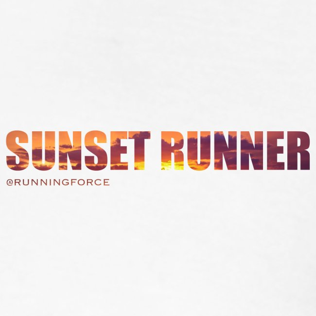 Sunset Runner - @RUNNINGFORCE