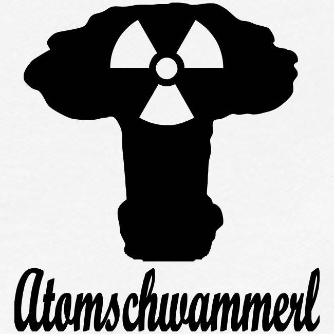 atomschwammerl- Atompilz verniedlicht Zeichen