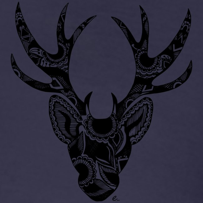 Cerf Mandala