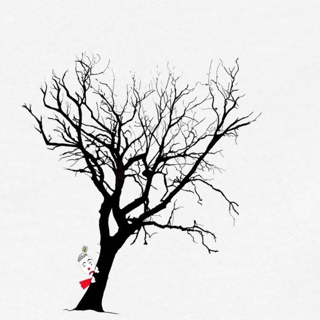 clown arbre