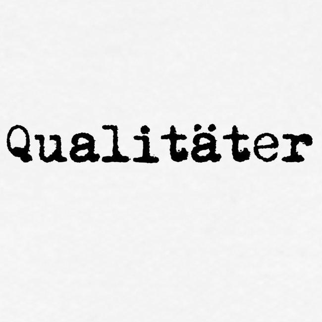 qualitaeter typewriter black