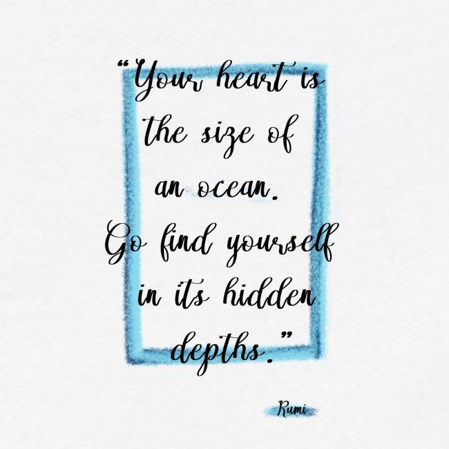 Frase motivazionale, citazione Rumi