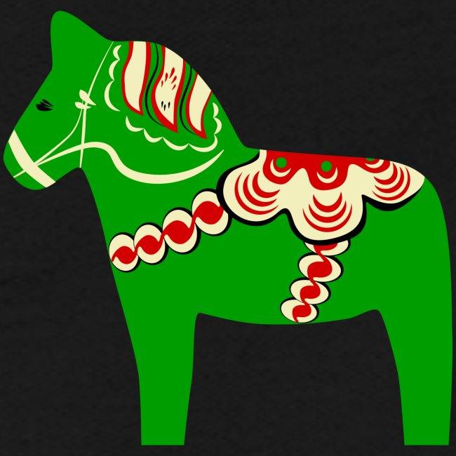 Grön dalahäst