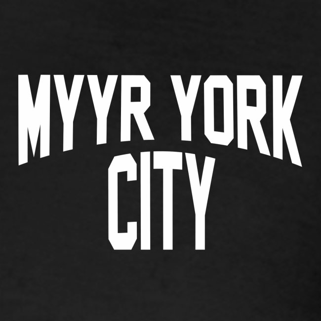 MYYR YORK CITY WHITE