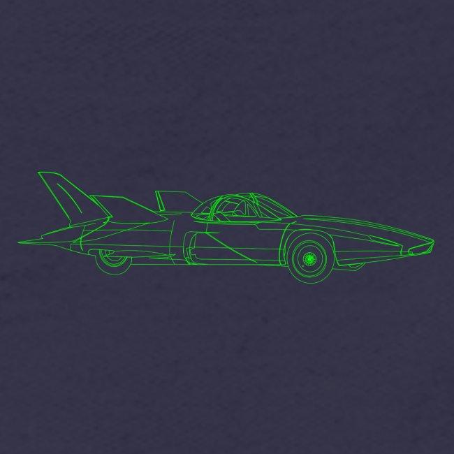 Futuristic Retro Auto