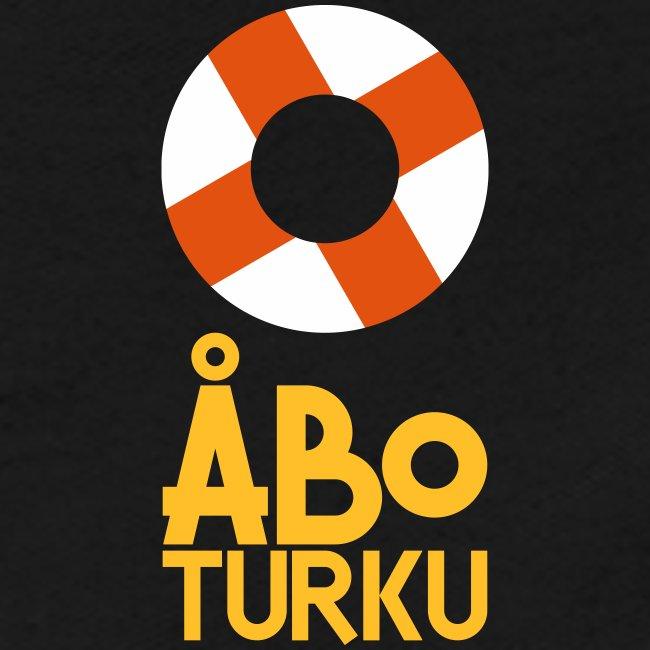 Livboj: Åbo (gul text)